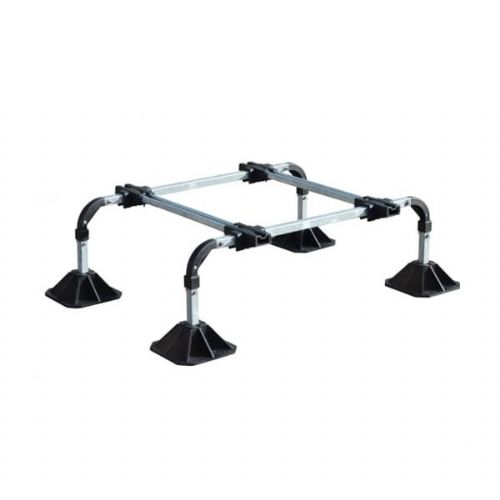 BBJ Big Foot Unit Roof System Lock 'n' Load Medium Frame Single For HVAC, Solar And Access